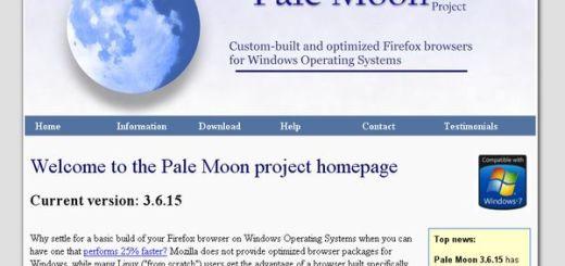 Pale Moon, navegador optimizado para Windows basado en Firefox