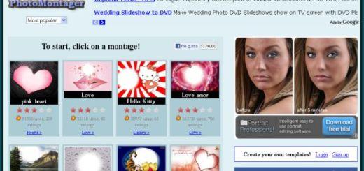 PhotoMontager, utilidad web para realizar fotomontajes con tus imágenes
