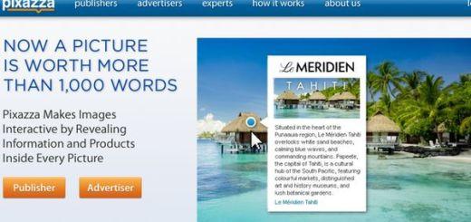 Pixazza, inserta publicidad de adsense en las imágenes de tu blog