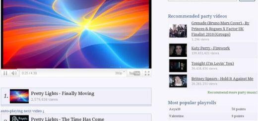 thePlayroll, crea listas de reproducción de vídeos y compártelas