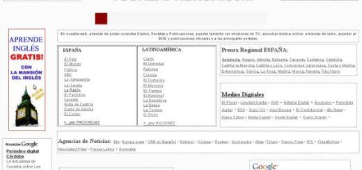 TodaLaPrensa, gran directorio de diarios online en español
