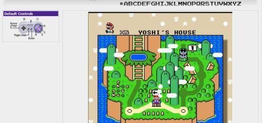 VirtualSuperNES: Emulador online para NES, SNES y GBI