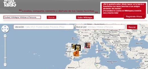 WikiTapas, encuentra los mejores lugares para tapear