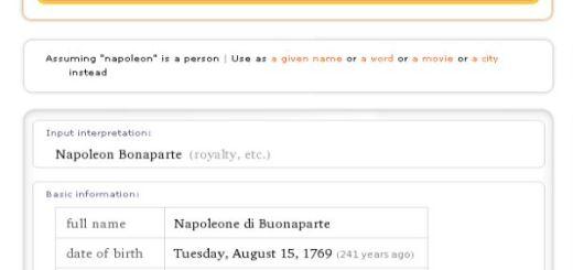 WolframAlpha, un buscador de respuestas