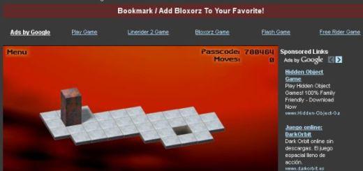 Bloxorz Game, adictivo puzzle para pensar un rato