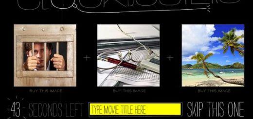 Clockbusters, tres pistas para descubrir el título de una película