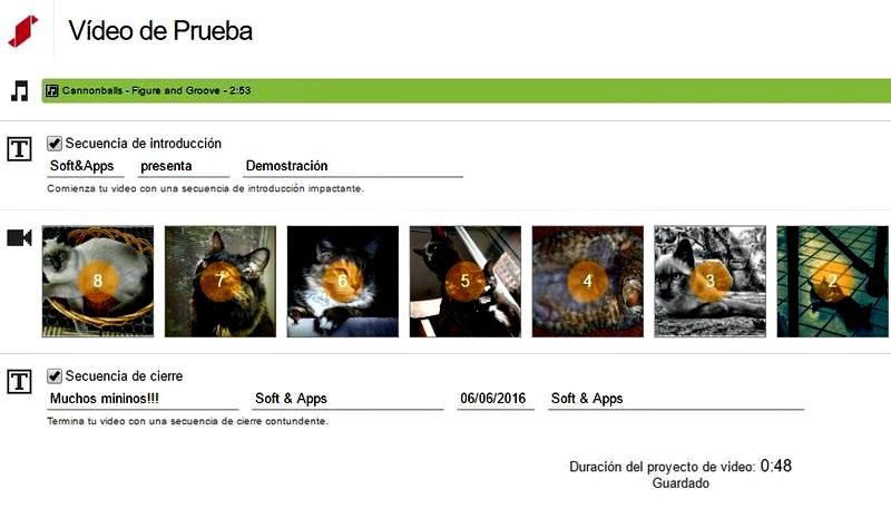 Stupeflix: fantástica aplicación web para crear vídeos gratis