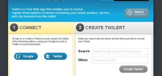 Twilert, alertas de Twitter vía email