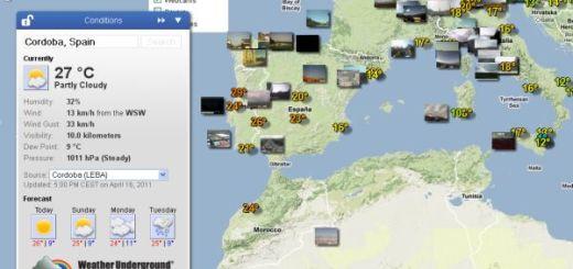 Weather Underground, la mejor forma de conocer la predicción meteorológica