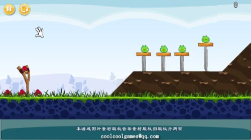 Un clon de Angry Birds para jugar online