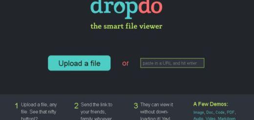 Dropdo, compartir archivos sin que tengan que descargarlos