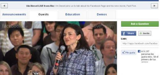 Facebook Live, sigue en vivo la actualidad en torno a Facebook