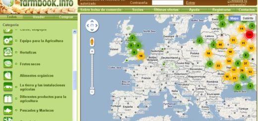 Farmbook, compra y venta de productos agropecuarios geolocalizados