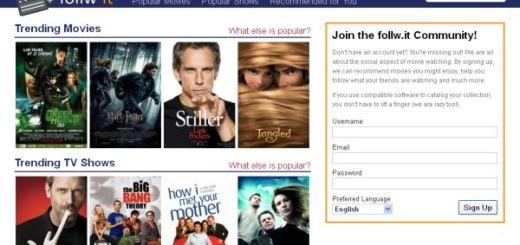 Follw.it, comunidad para opinar sobre películas y series