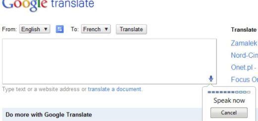 Google Translate ya soporta traducciones de textos dictados con nuestra voz