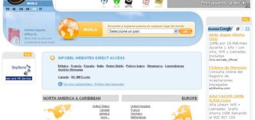 Infobel, un inmenso directorio telefónico mundial