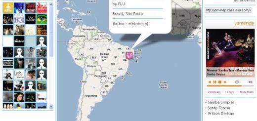 Jammap, escucha online la música de cada región del mundo