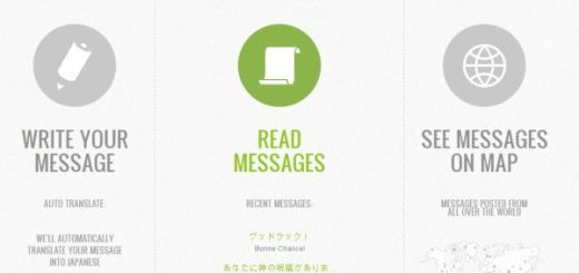 Messages for Japan, el sitio de Google para enviar mensajes de ánimo al pueblo japonés