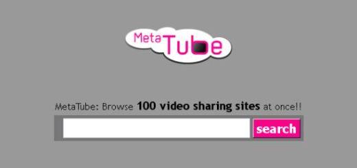 MetaTube, metabuscador de vídeos en 100 sitios distintos