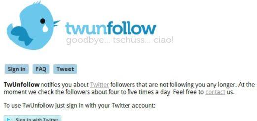 TwUnfollow, conoce quien dejó de seguirte en Twitter