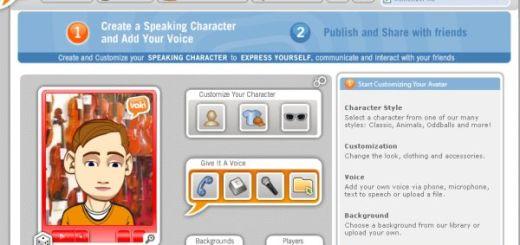 Voki, crea personajes virtuales con animación y voz