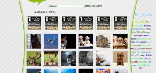 Wallpaper Search Engine, buscador de fondos de Escritorio