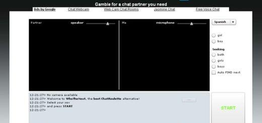 ChatGambler, otro videochat con personas aleatorias