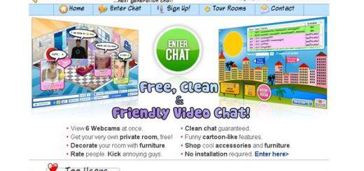 Chatablanca, un videochat online con salas privadas
