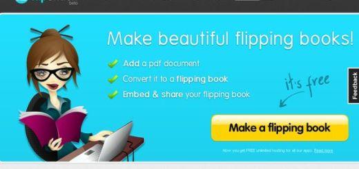FlipSnack, conversor online de pdf a libros digitales en flash