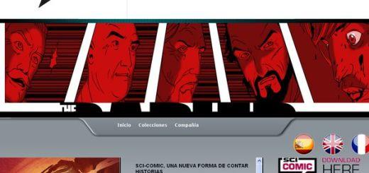 Sci-Comic, aplicación gratuita para leer comics en iPad