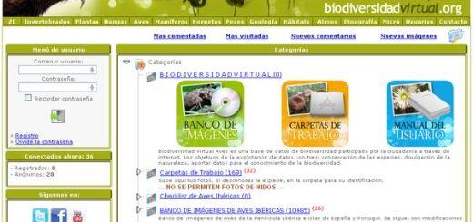 Biodiversidad Virtual, enciclopedia online para fomentar el conocimiento de la biodiversidad