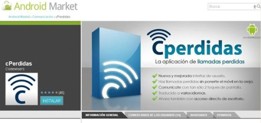 cPerdidas, aplicación para realizar llamadas perdidas con Android