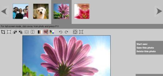 FlipMyPhotos, retoca y edita online tus fotografías