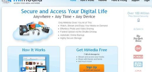 Mimedia, 7Gb gratuitos para realizar backups