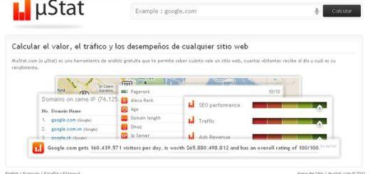 Mustat, informes y estadísticas sobre cualquier web