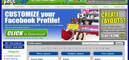 PageRage, personaliza tu Facebook con imágenes de fondo