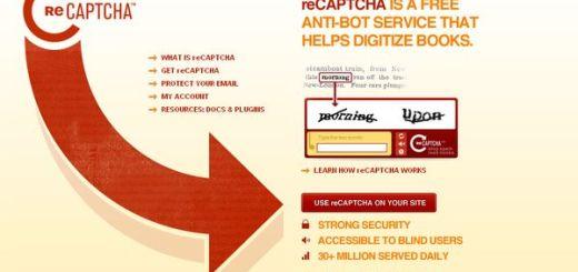 reCAPTCHA, servicio anti-bots gratuito para tu sitio