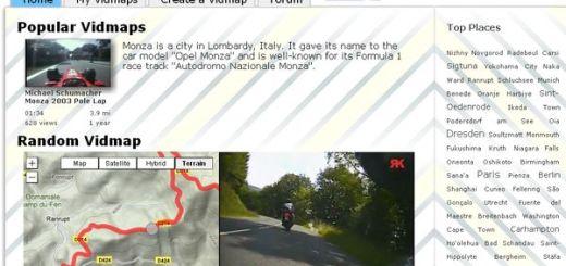 Vidmap, geolocaliza en el mapa trayectos grabados en vídeo