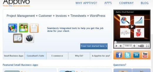 Apptivo, colección de aplicaciones gratuitas en la nube para pymes y empresas