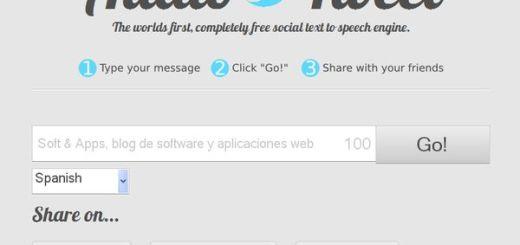 AudioTweet, convierte un texto en audio y compártelo en internet