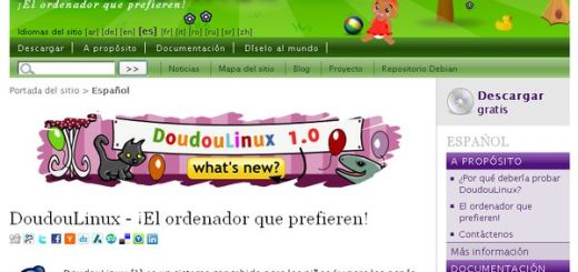 DoudouLinux, un Linux para los niños