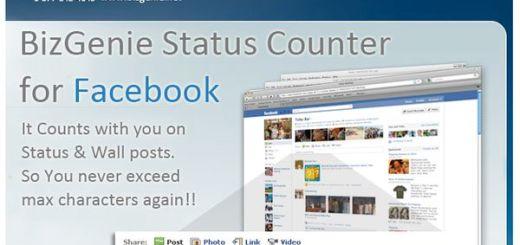 Facebook Status Counter, contador de caracteres para Facebook (Firefox)