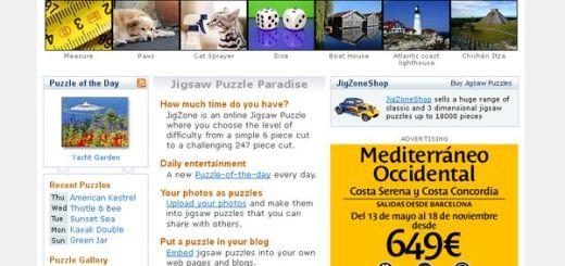 JigZone, juega a puzzles online o crealos tu mismo