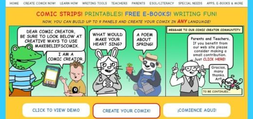 Make Beliefs Comix - crear cómics online