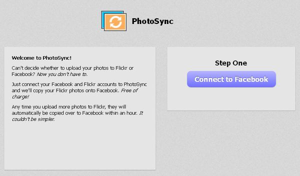 PhotoSync: transfiere, y sincroniza, tus fotos de Flickr a Facebook