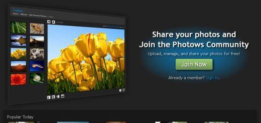 Photows: aloja, organiza y comparte tus fotografías