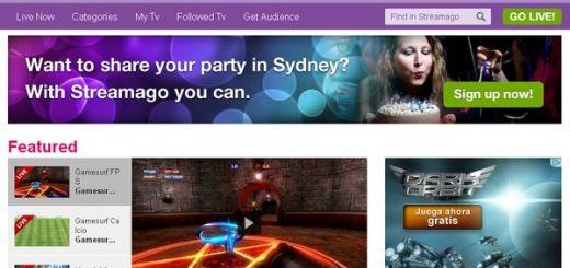 Streamago, usa tu webcam y micro para crear una televisión online