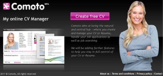 Comoto, crea y divulga tu CV