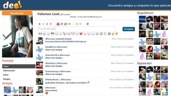 red social para hacer amigos
