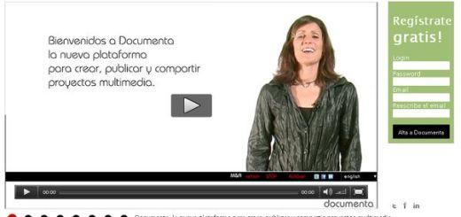 Documenta, crea y comparte toda clase de proyectos multimedia